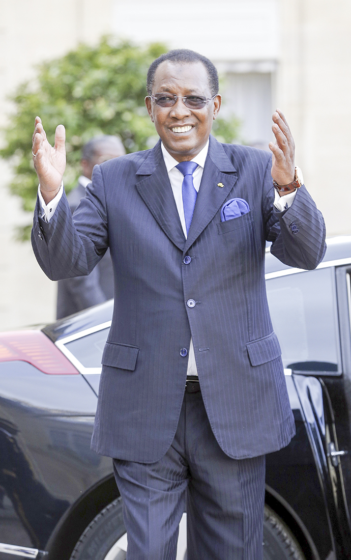 El presidente de Chad, Idriss Déby / Getty Images