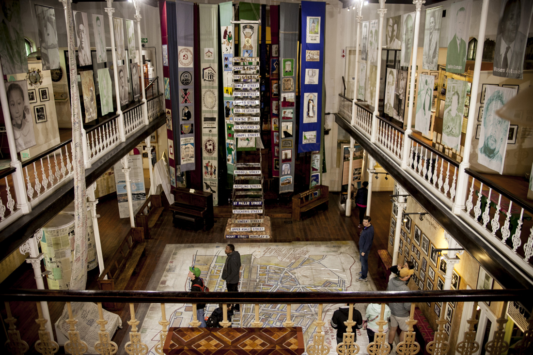 Interior del District Six Museum /Fotografía: Eva Filgueira Guimerá