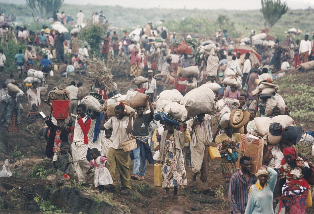 Desplazados en la República Democrática de Congo / Fotografía: Archivo Mundo Negro