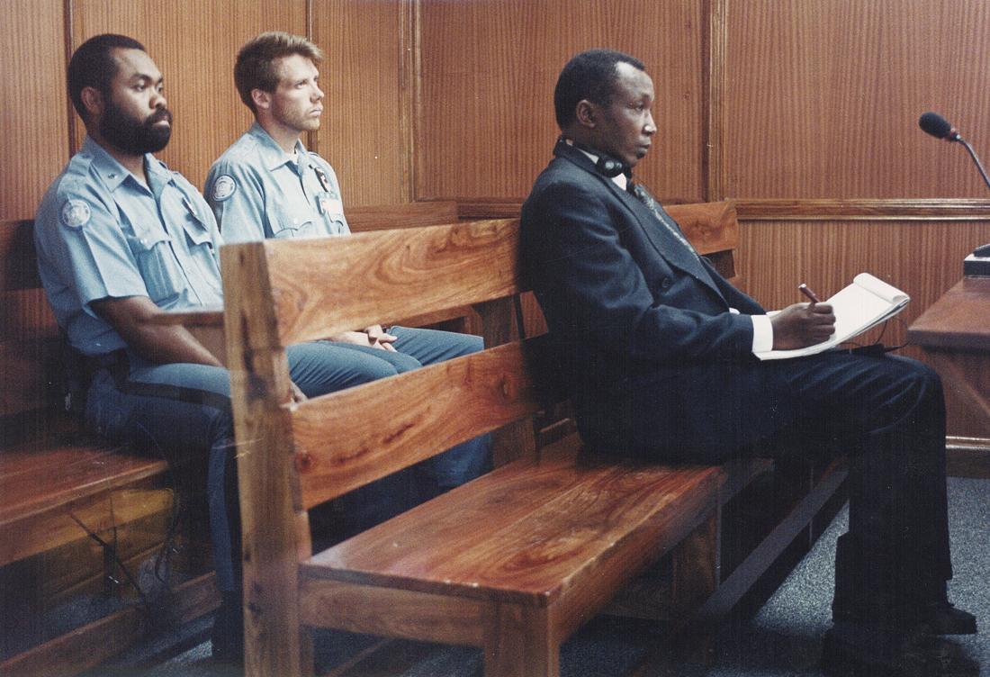 Imagen del juicio contra Jean-Paul Akeyesu / Fotografía: Archivo Mundo Negro