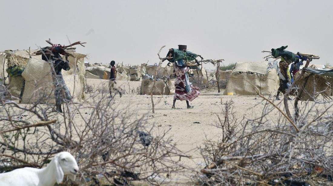 Campo de desplazados de Kidjendi