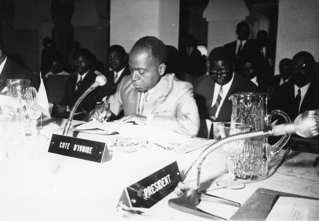 Félix Houphouët-Boigny, primer presidente marfileño