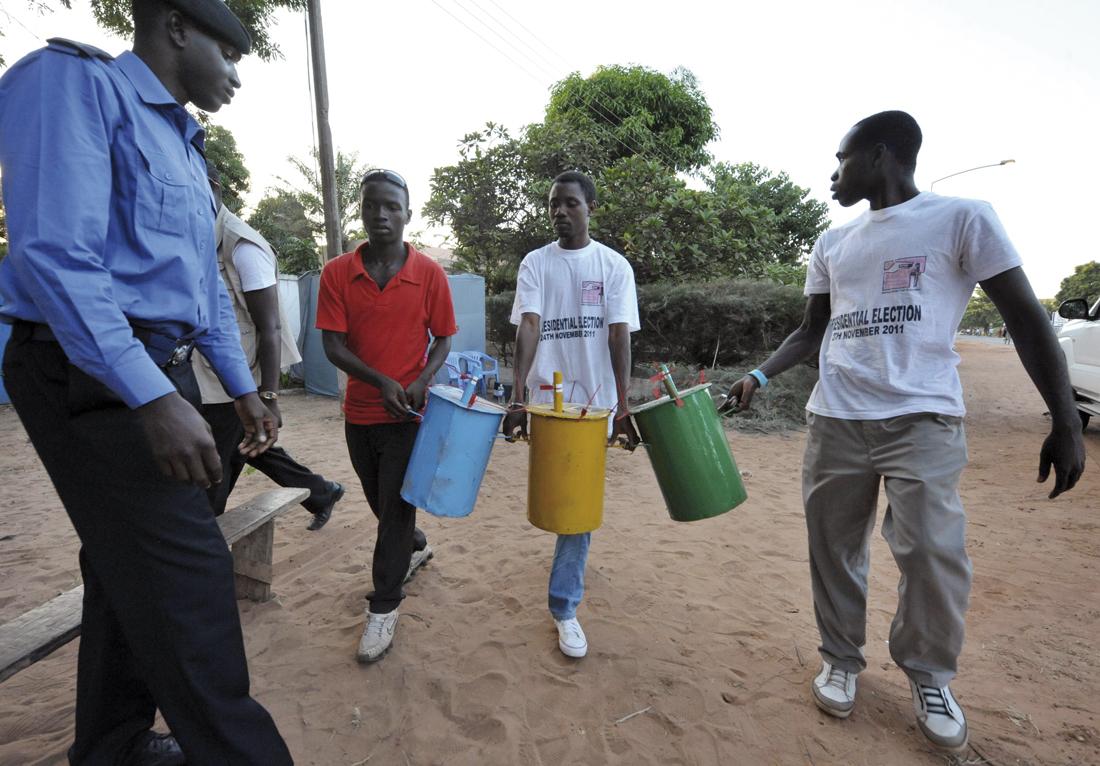 Elecciones en Gambia
