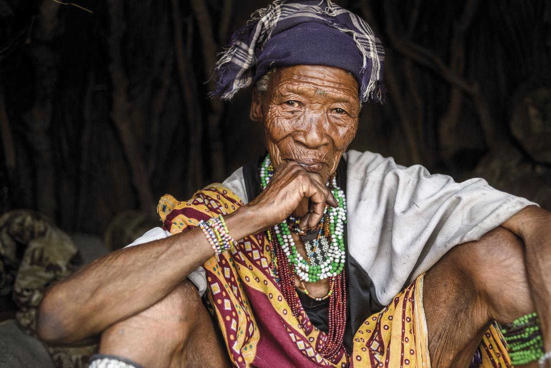 Anciana bosquimana / Fotografía: Getty Images