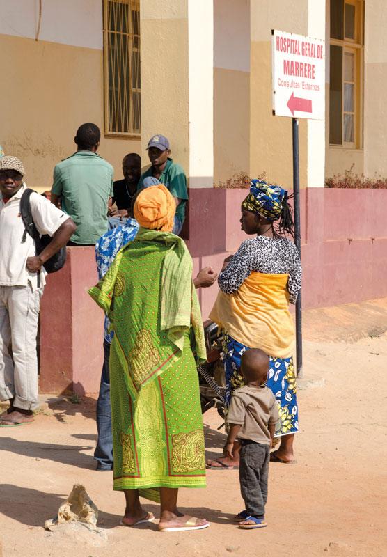 Hospital de Marrere, en Mozambique
