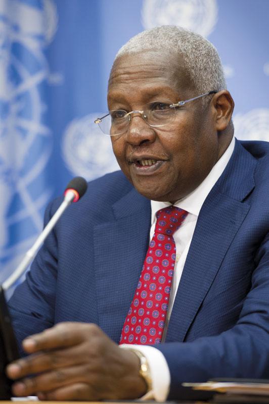 Sam K. Kutesa, ministro de Asuntos Exteriores ugandés