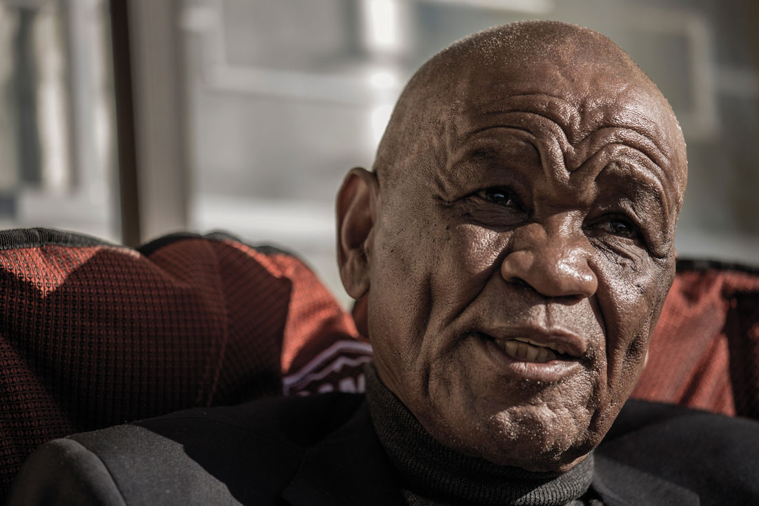 Thomas Thabane, presidente de Lesoto