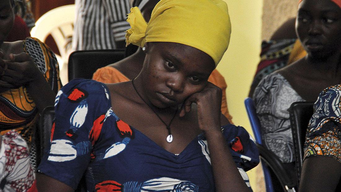 Joven de Chibok