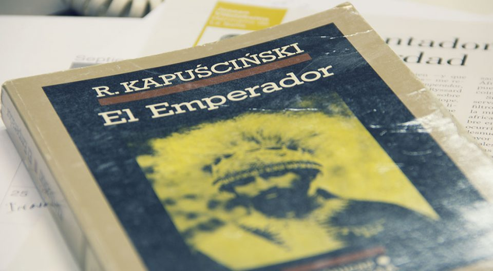 El emperador, Kapuscinski