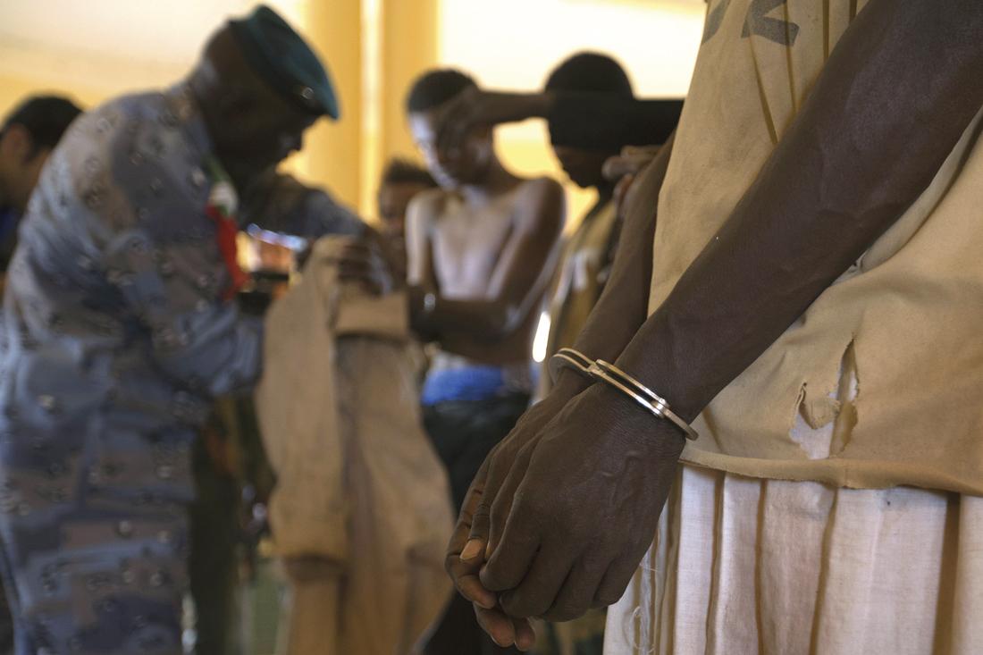 Miembros del Movimiento por la Unidad y la Yihad en África Occidental