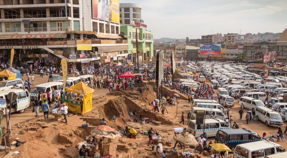 paseo por Kampala