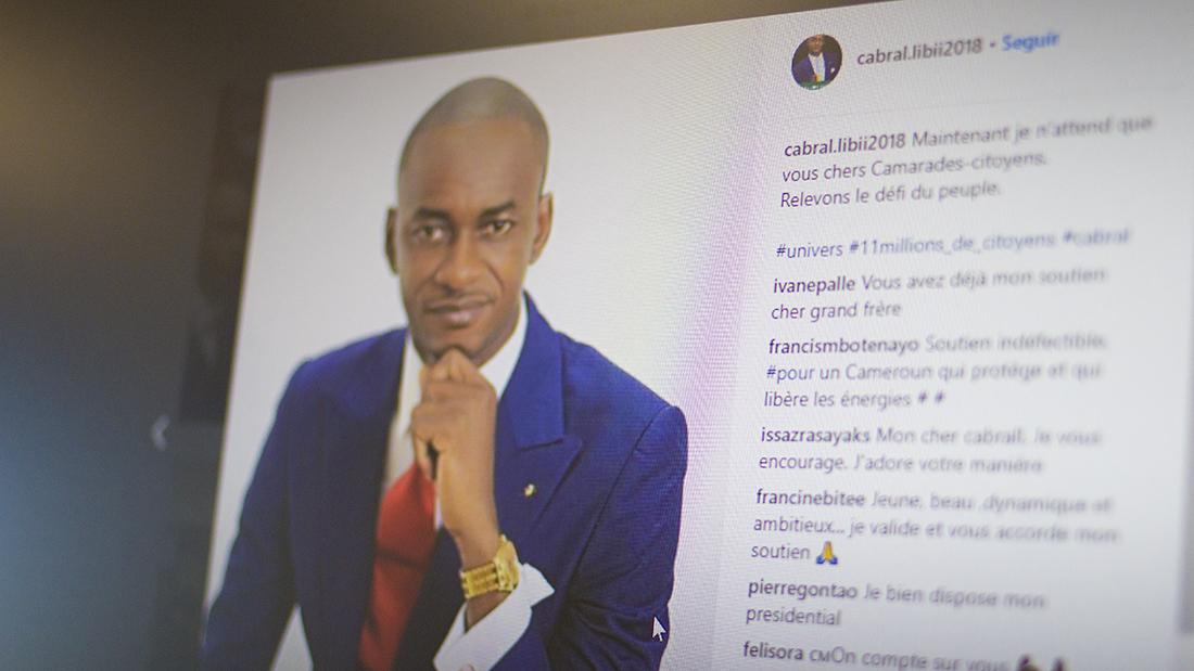 Instagram de Cabral Libii