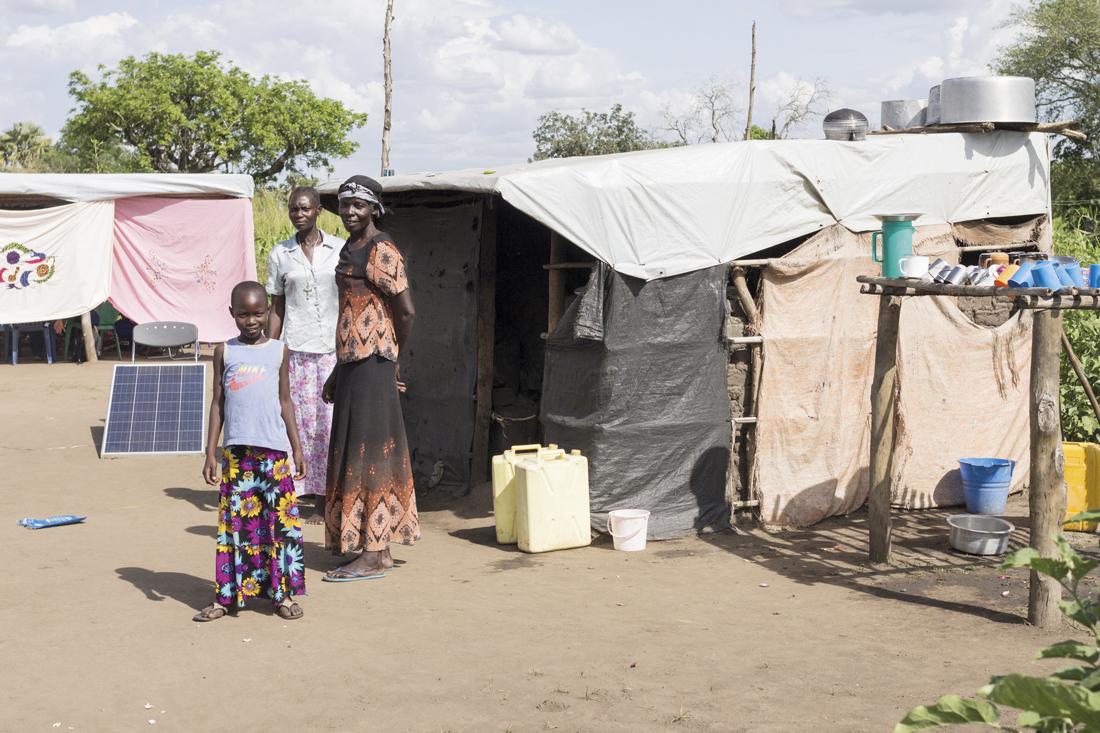 Refugiados Sudán del Sur