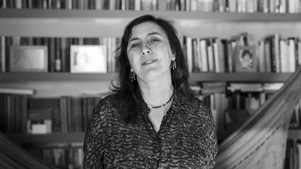 Ana Cristina Herreros en su casa. Fotografía: Javier Sánchez Salcedo
