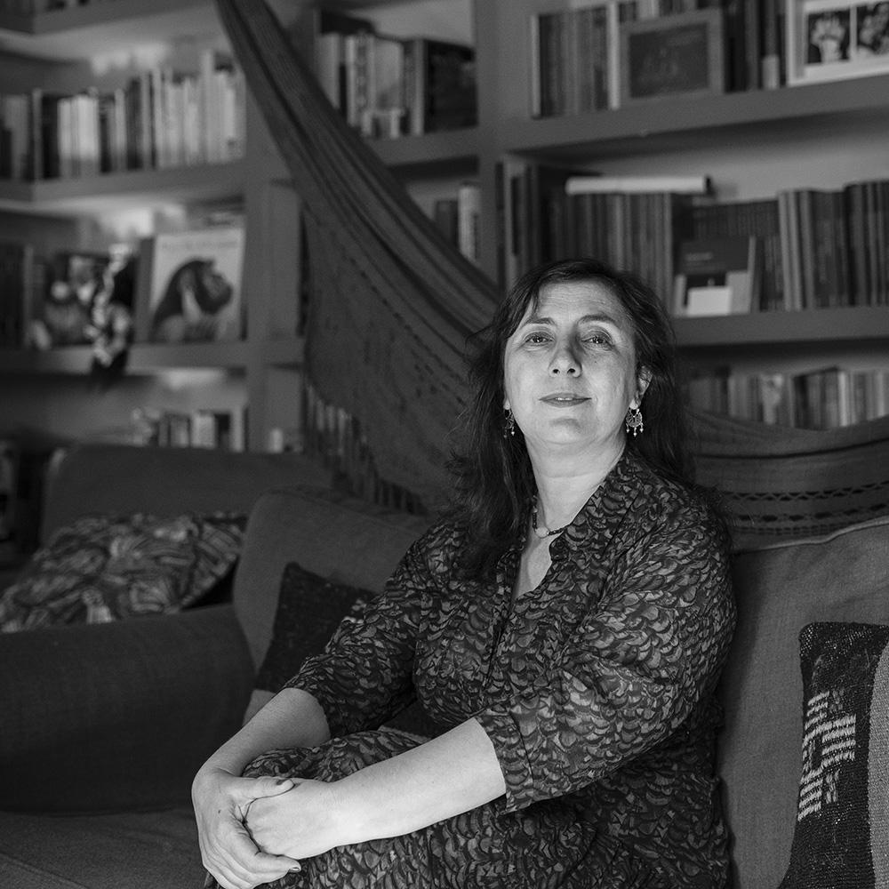 Ana Cristina Herreros el día de la entrevista. Fotografía: Javier Sánchez Salcedo